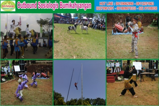 OUTBOUND SOSIOLOGIS BUMIKAHYANGAN